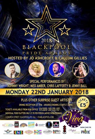 Blackpool Pride Awards 2018