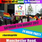 burnley pride 2017