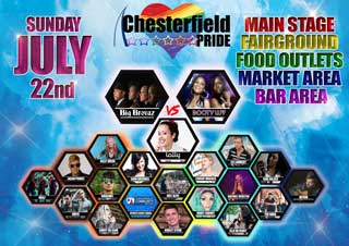 Chesterfield Pride 2018