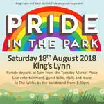 king's lynn & west norfolk pride 2018