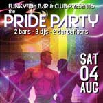 pride @ funkyfish bar & club 2018