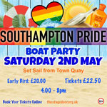 southampton pride boat party 2020
