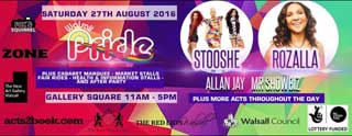 Walsall Gay Pride 2017