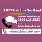 lgbt helpline scotland glasgow
