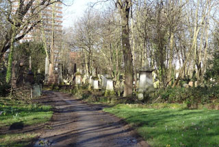 Photo of East cemetery Mile End