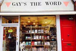 Photo of Gay's the Word Bookshop