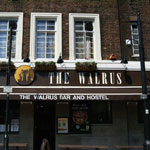 the walrus bar and hostel lambeth