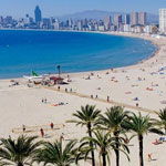 levante beach benidorm