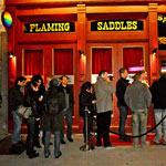 flaming saddles new york